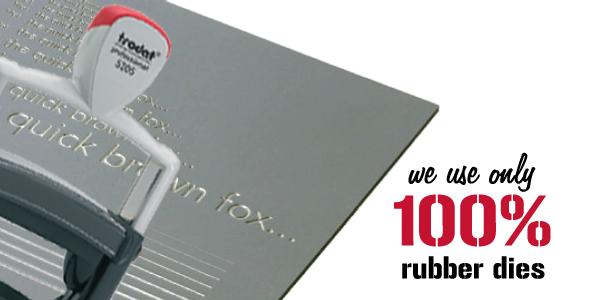 100% Rubber