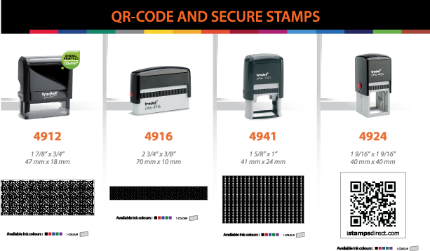 QR Code and Secure Stamps